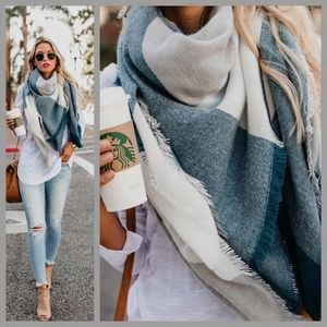 Chilled Out Plaid Scarf